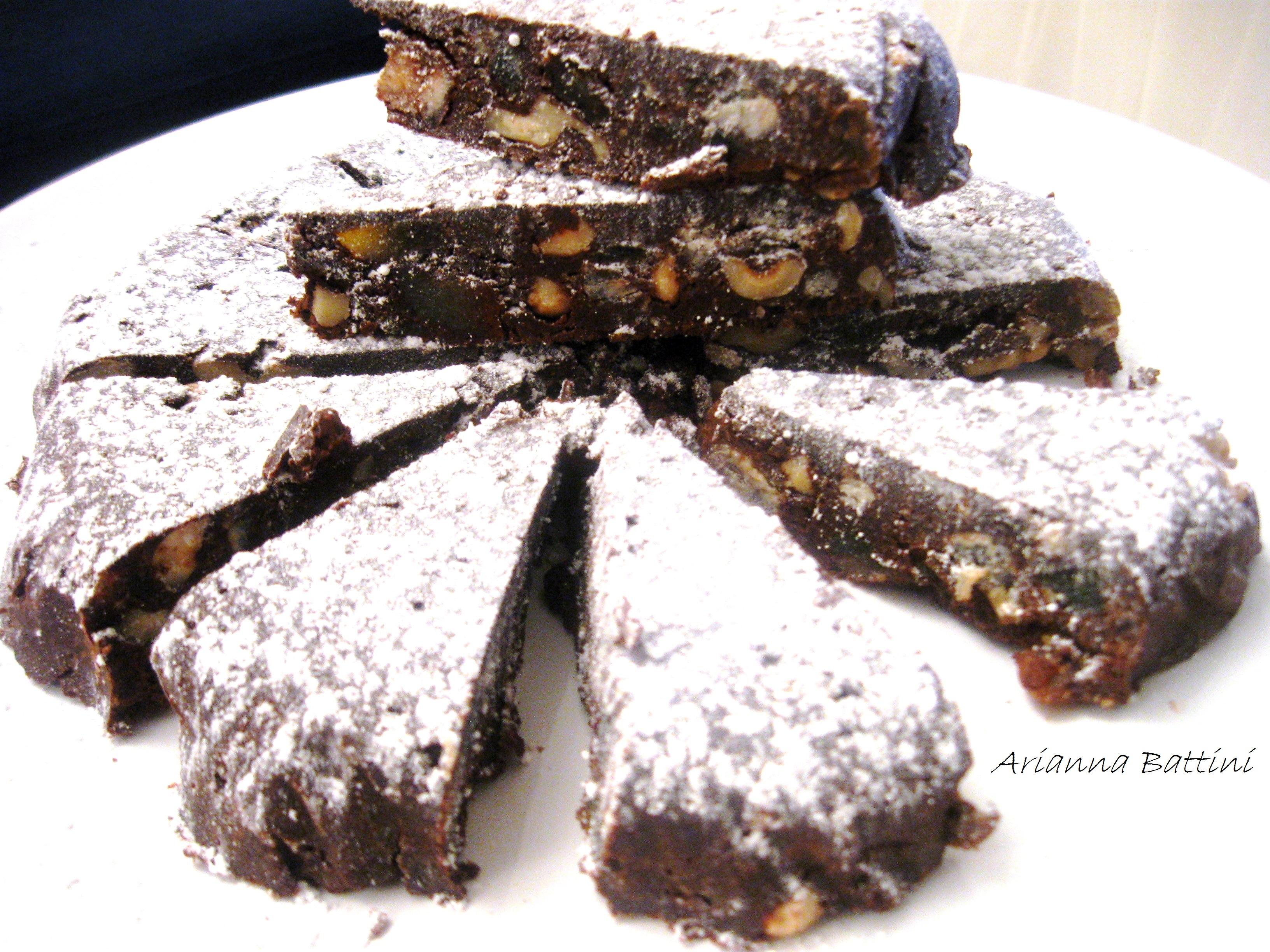 Il Cioccotuccio.......panforte al cioccolato