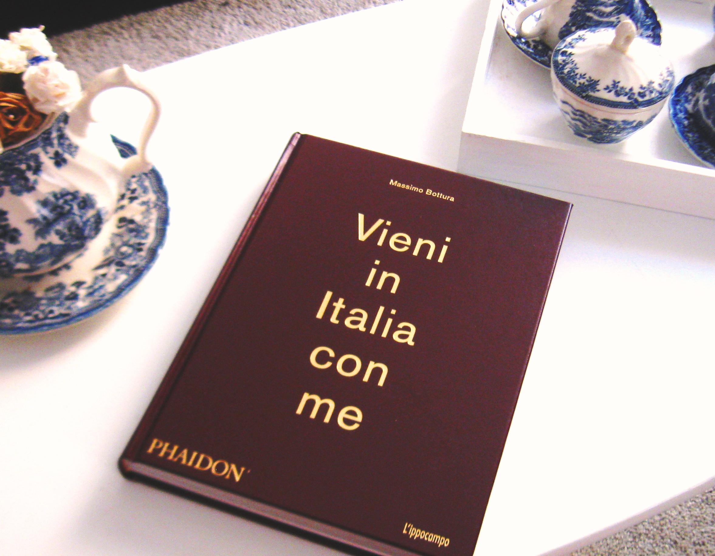 """Il Libro: """" Vieni in Italia con me """" di Massimo Bottura"""