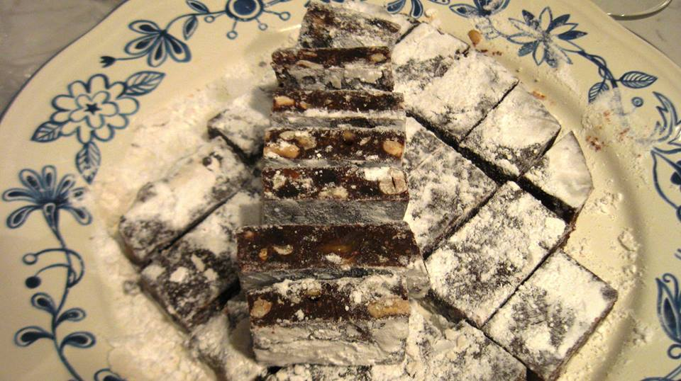 Panforte al cioccolato homemade
