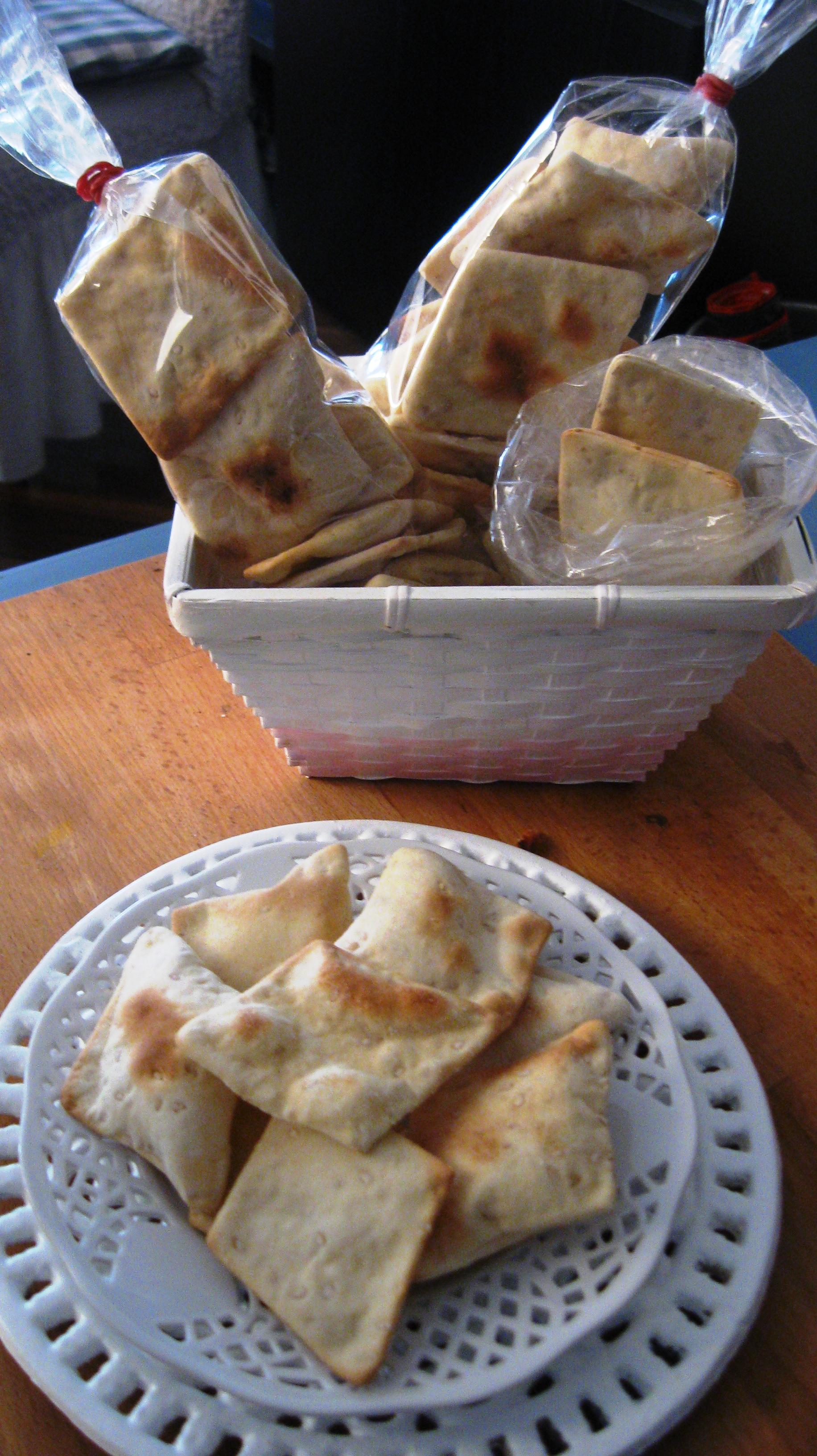 Crackers di Kamut e sesamo