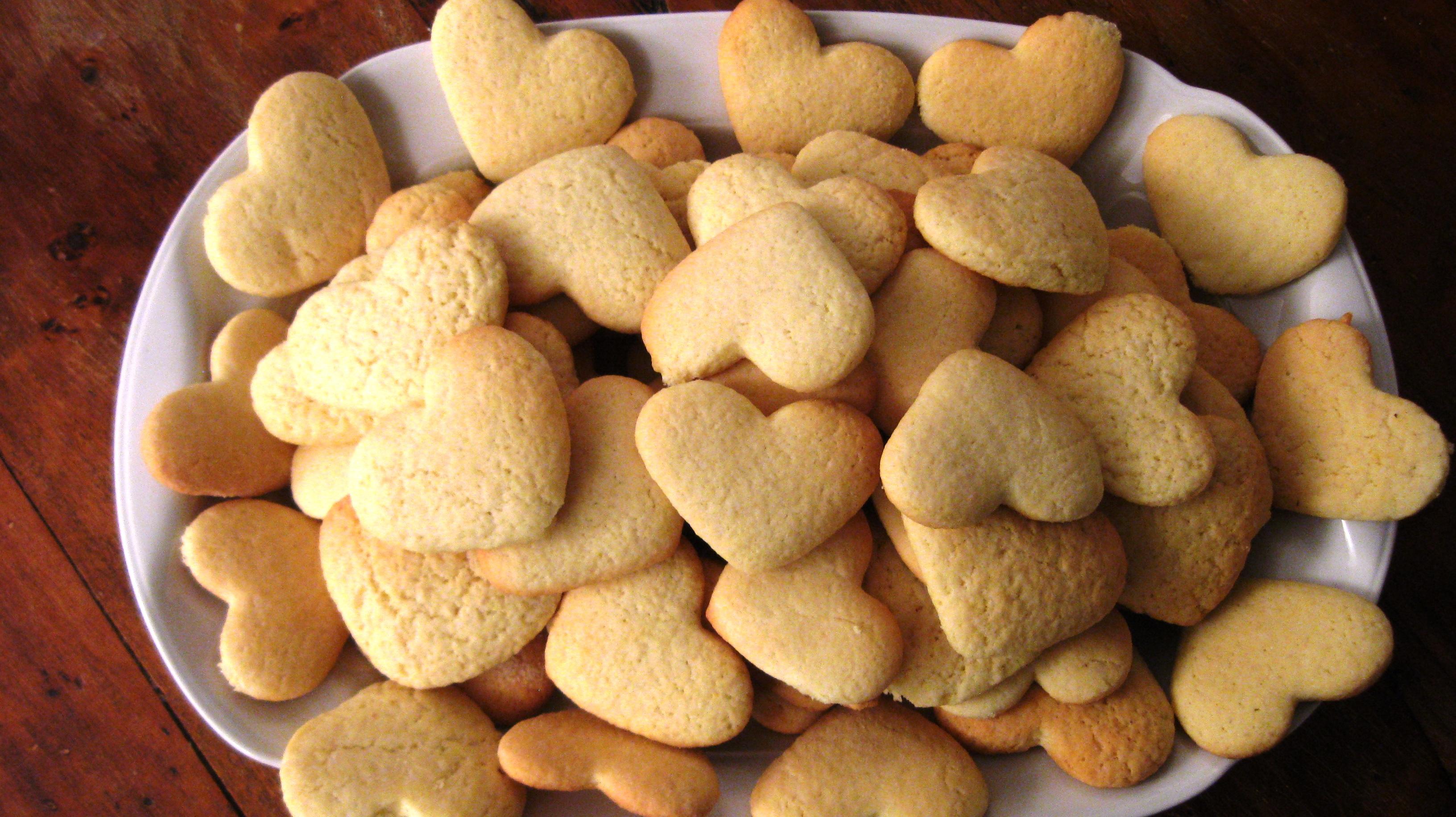Biscotti di pasta frolla al Vinsanto
