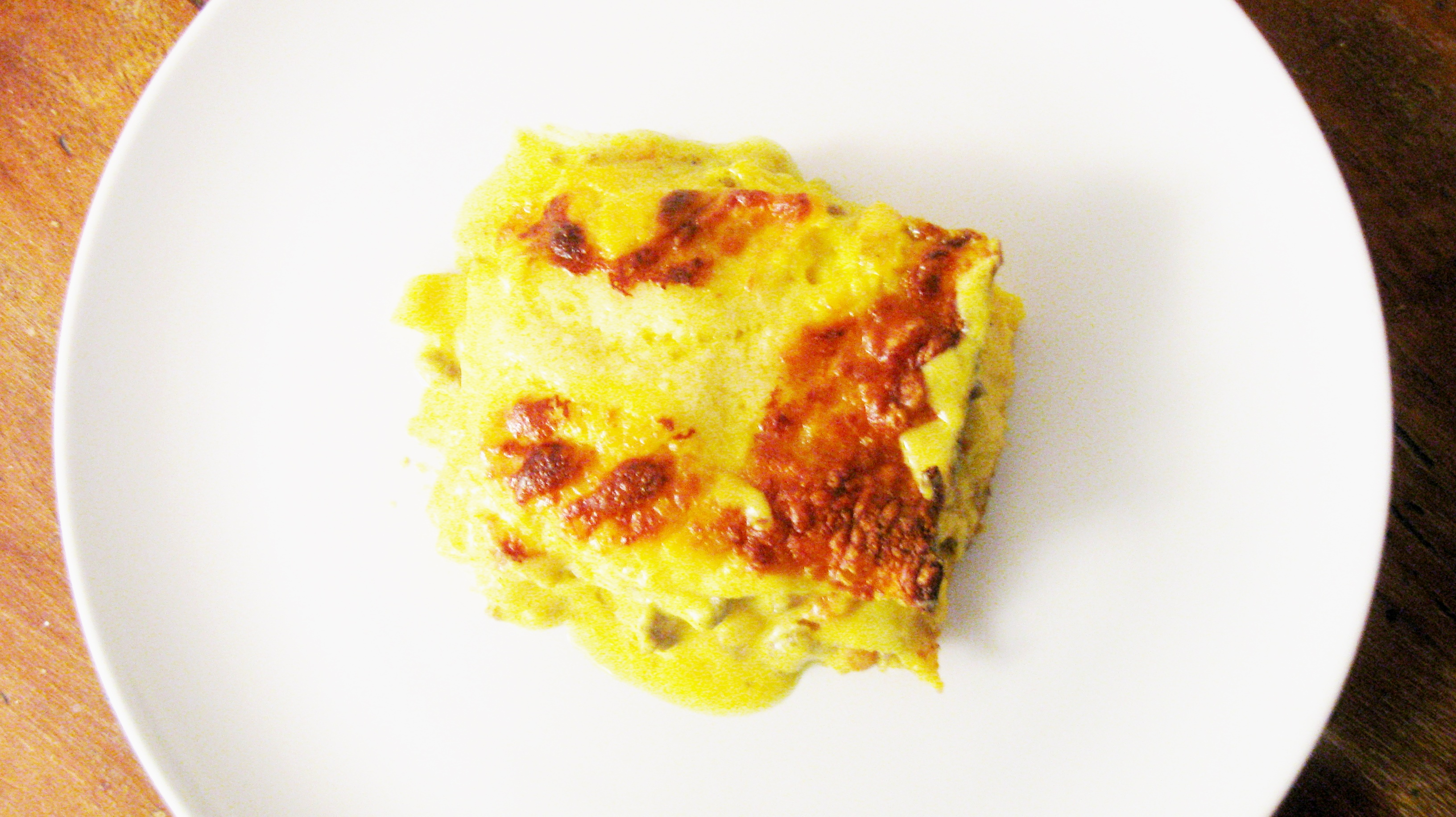 lasagne con ragù in bianco e balsamella alla curcuma