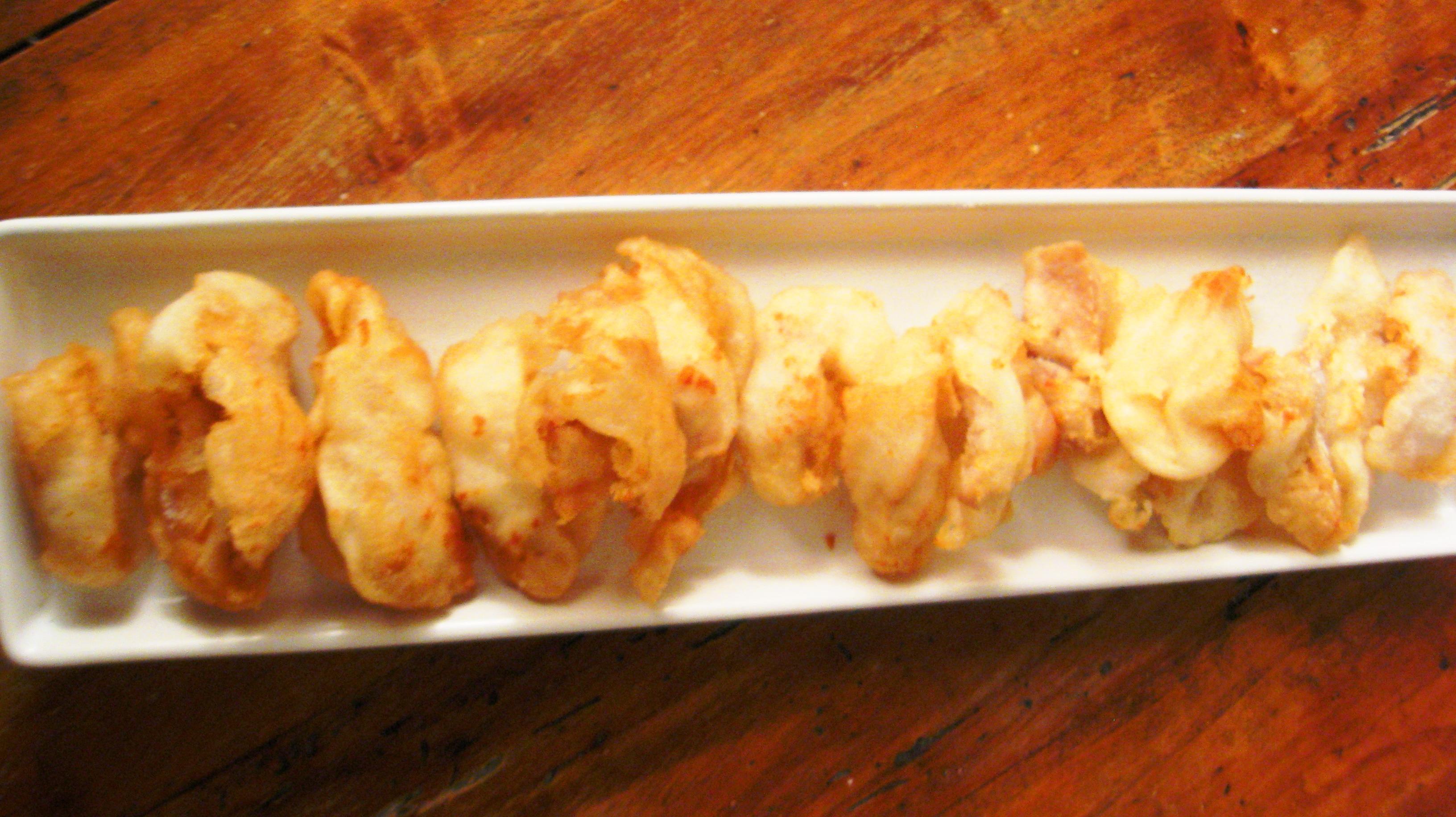 Tempura di pollo