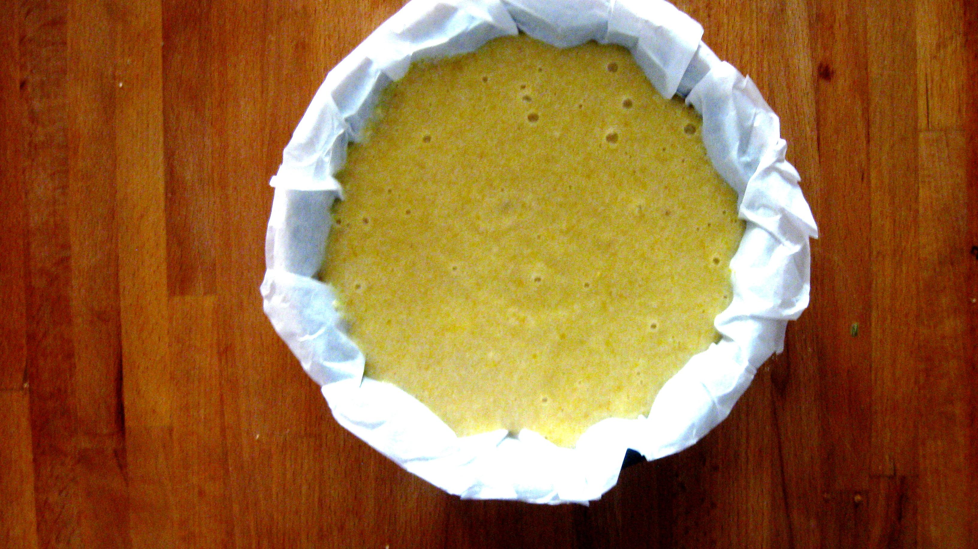 Torta di mandorle senza farina e burro